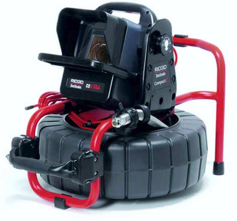 Kontrola odpadu kamerou - Ridgid Seesnake